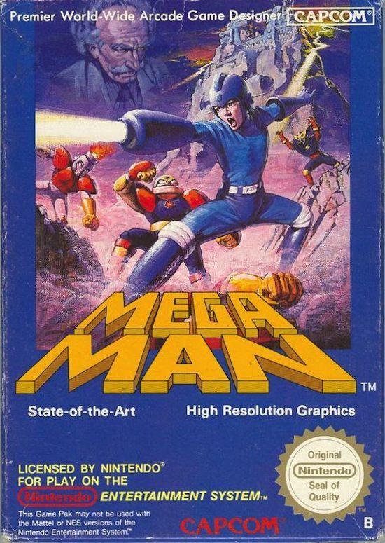 Gaming Nostalgia 80's NES Box. | Capcom | Pinterest | Nes ... | Mega  man, Retro gaming art, Vintage video games