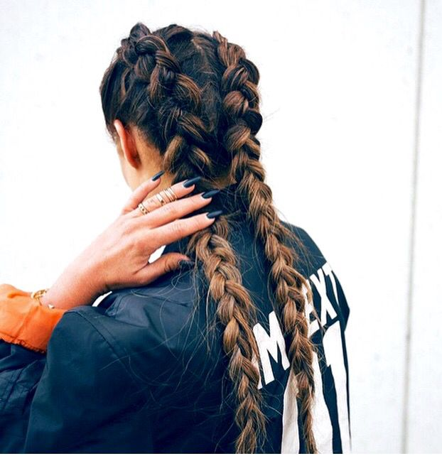 Inside Out Braids Hair Styles Hair Looks Gorgeous Hair