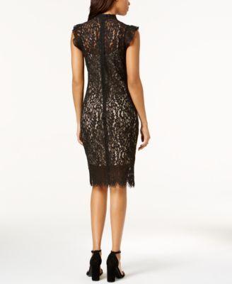 46365ceb01 Bar Iii Lace Choker Dress