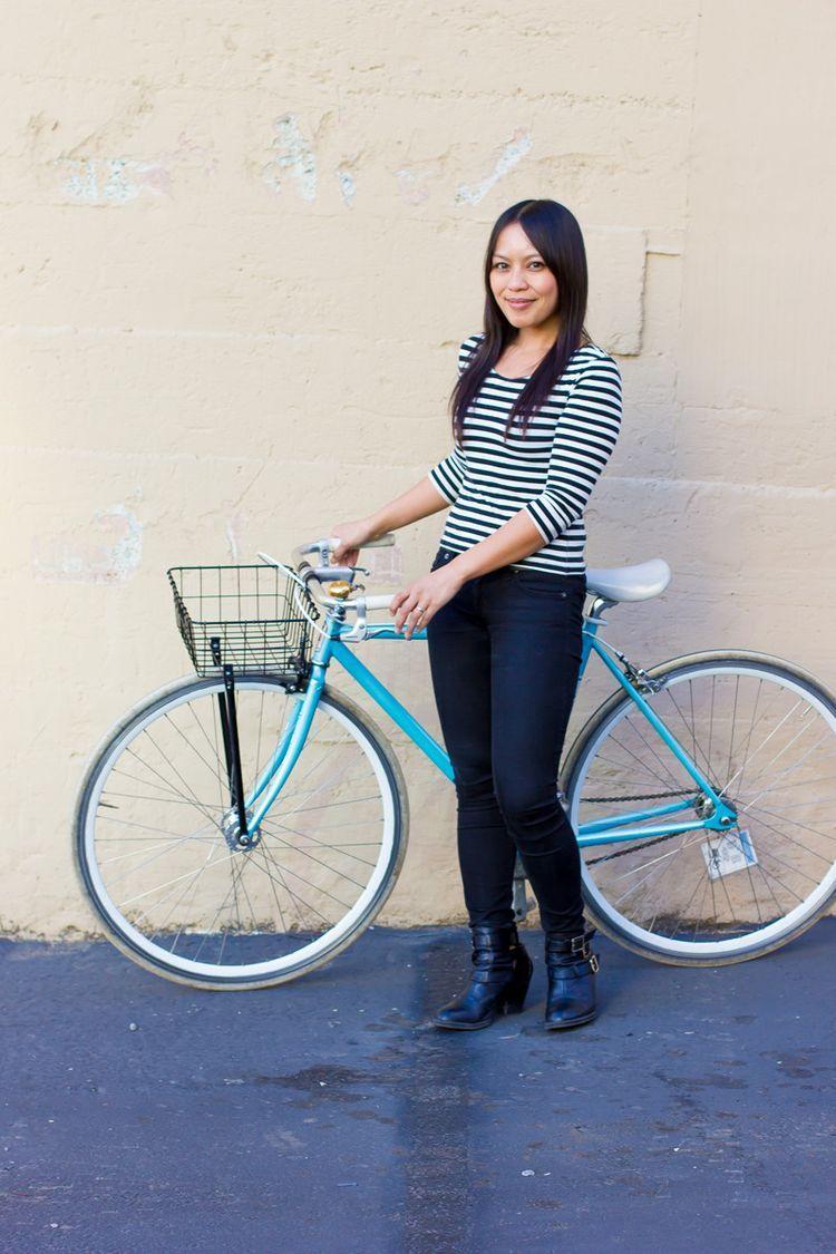 Street Style Bike Fashion - Gritchelle