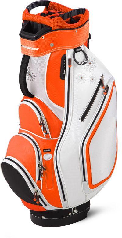 Sun Mountain Las Sync Cart Golf Bag Orange White Black