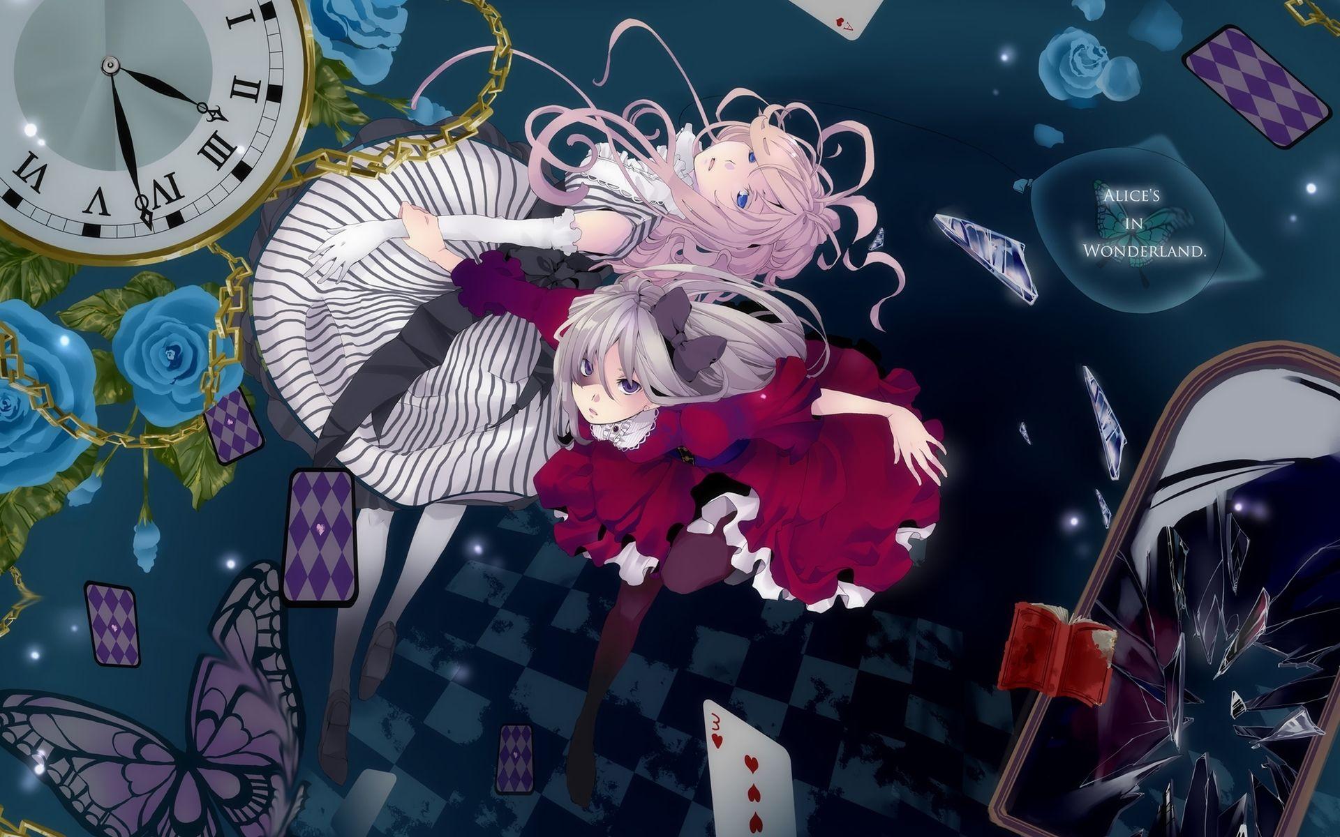 Alice in Wonderland style Anime, País de las maravillas