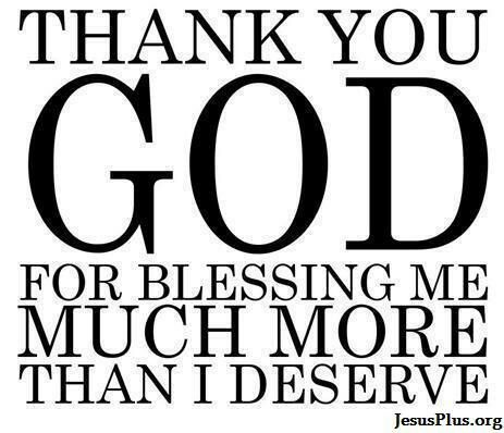 Thank You God For Blessing Me Much More Than I Deservevinyl Wall