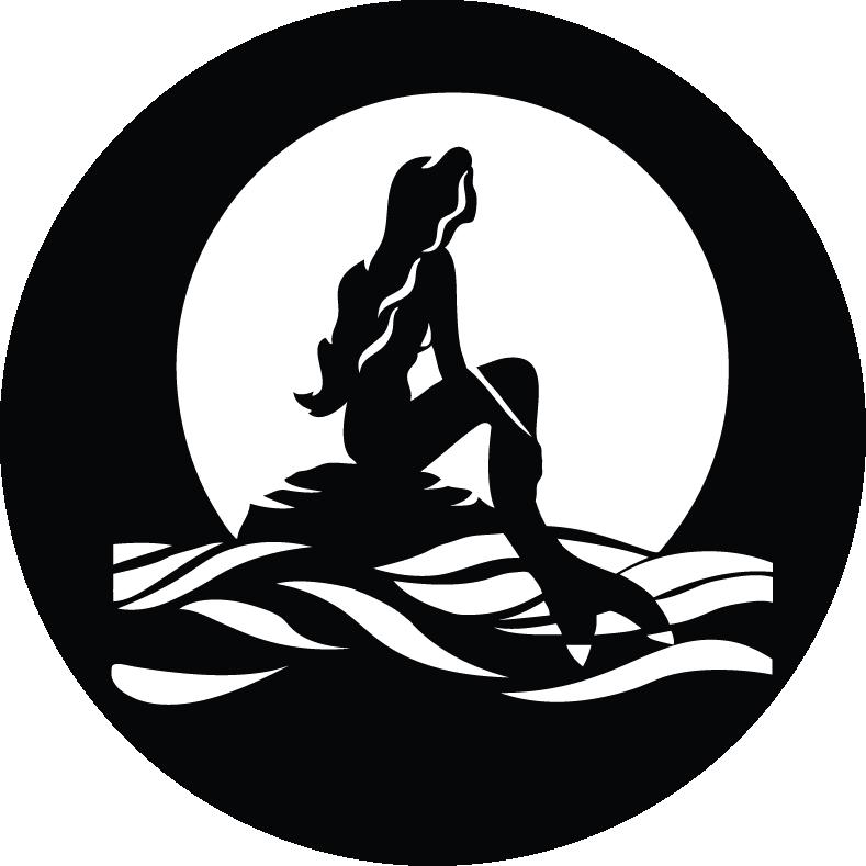 similiar mermaid stencil templates keywords mermaid inspiration in