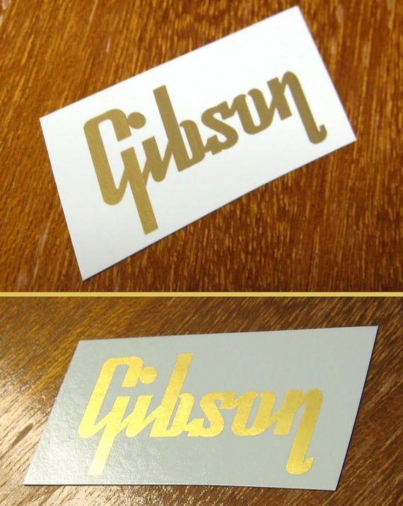 Gibson Waterslide Headstock Decal Les Paul Es 125 es 335 es 175 Vintage guitar parts #vintageguitars