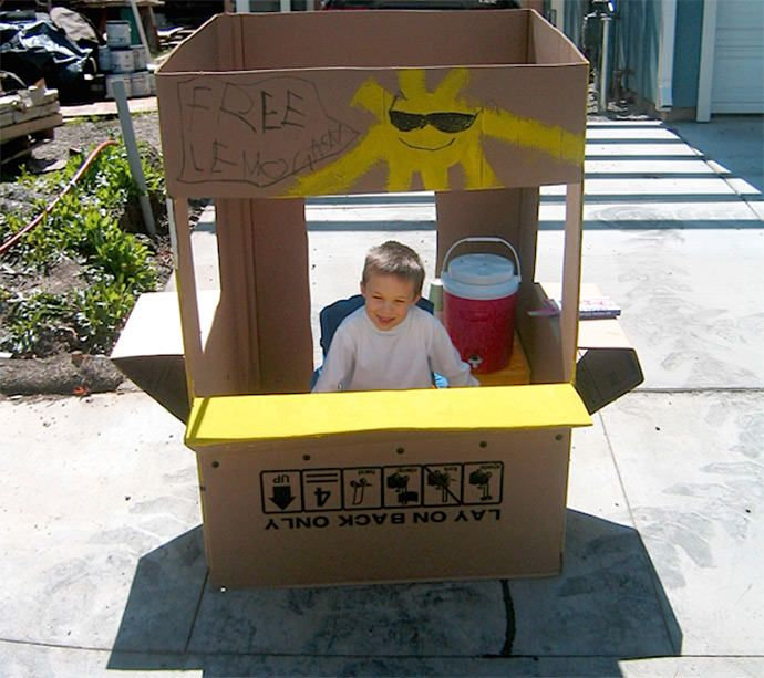 diy lemonade stands craft