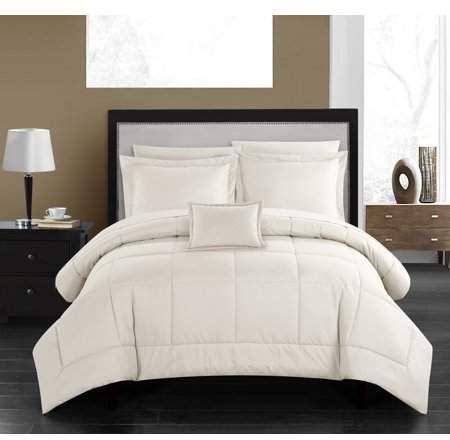 Chic Home Jorin 6 Piece Bed in a Bag Comforter Set - Walmart.com