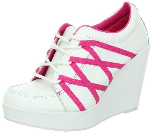 Volatile Women's Excitation Lace-Up Fashion Sneaker,White/Fuchsia,5.5 B US Volatile http://www.amazon.com/dp/B009P7ZWS4/ref=cm_sw_r_pi_dp_GDH9ub0VMG4CZ