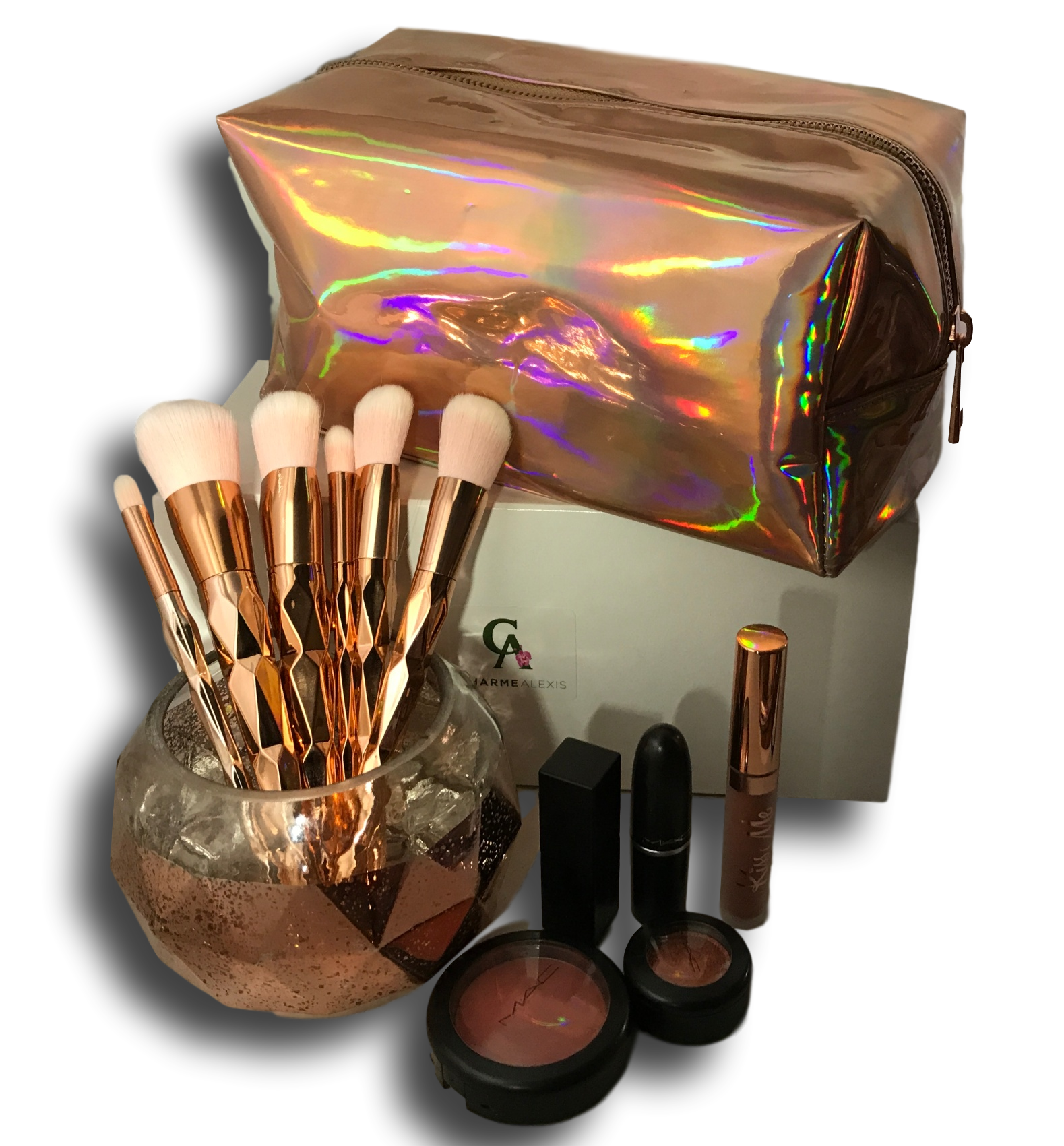Stunning Holograph Makeup Bags are here! We had these bags