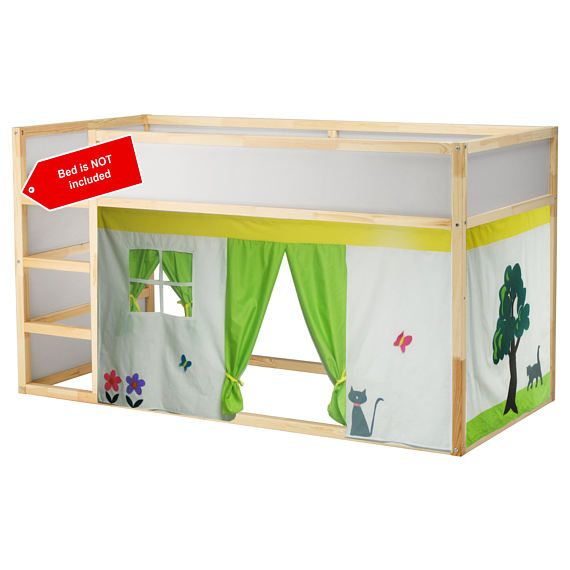 The Little House Bed Playhouse Bed Tent Loft Bed Curtain Bed