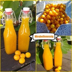 Photo of Rezept: Mirabellenessig – Flaschenpost des Sommers