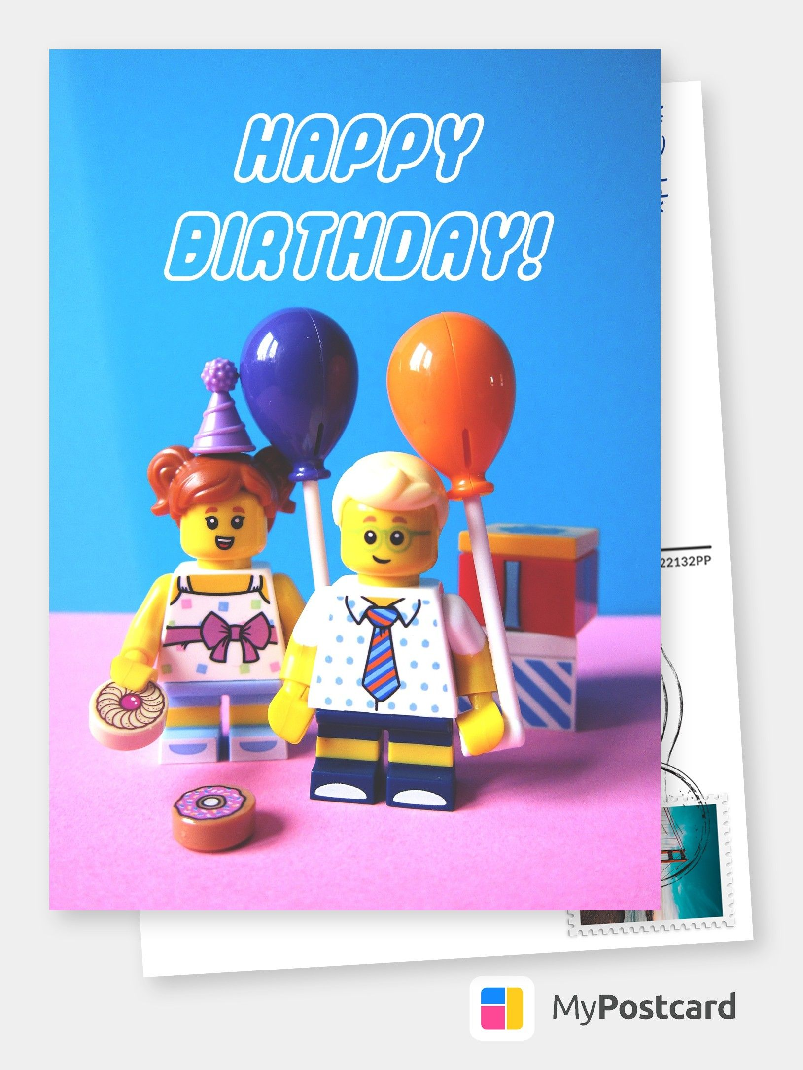 Lego Happy Birthday Birthday Cards Quotes Send Real Postcards Online Birthday Card Sayings Happy Birthday Minions Funny Greeting Cards