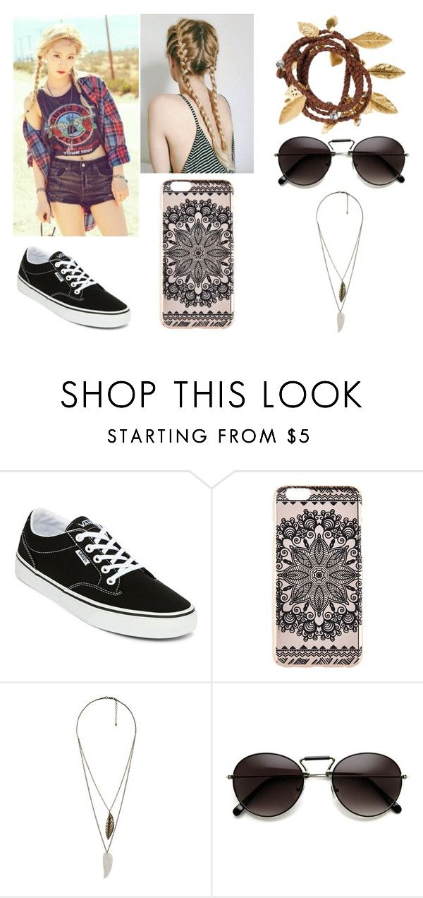 """""""Sem título #158"""" by miriamoraes ❤ liked on Polyvore featuring Vans, New Look, Forever 21 and H&M"""