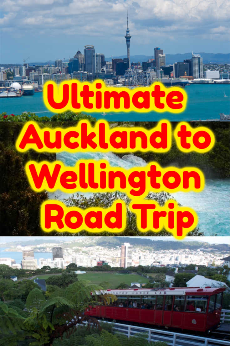 Enjoy An Auckland To Wellington Drive With These Stops Wellington New Zealand Oceania Travel Road Trip