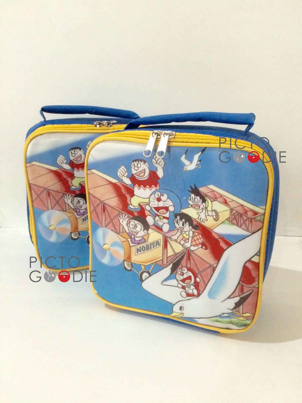 Doraemon Goody Bags Bag Tas Emoticon Lunch Theme Portfolio Pinterest 1224x1632