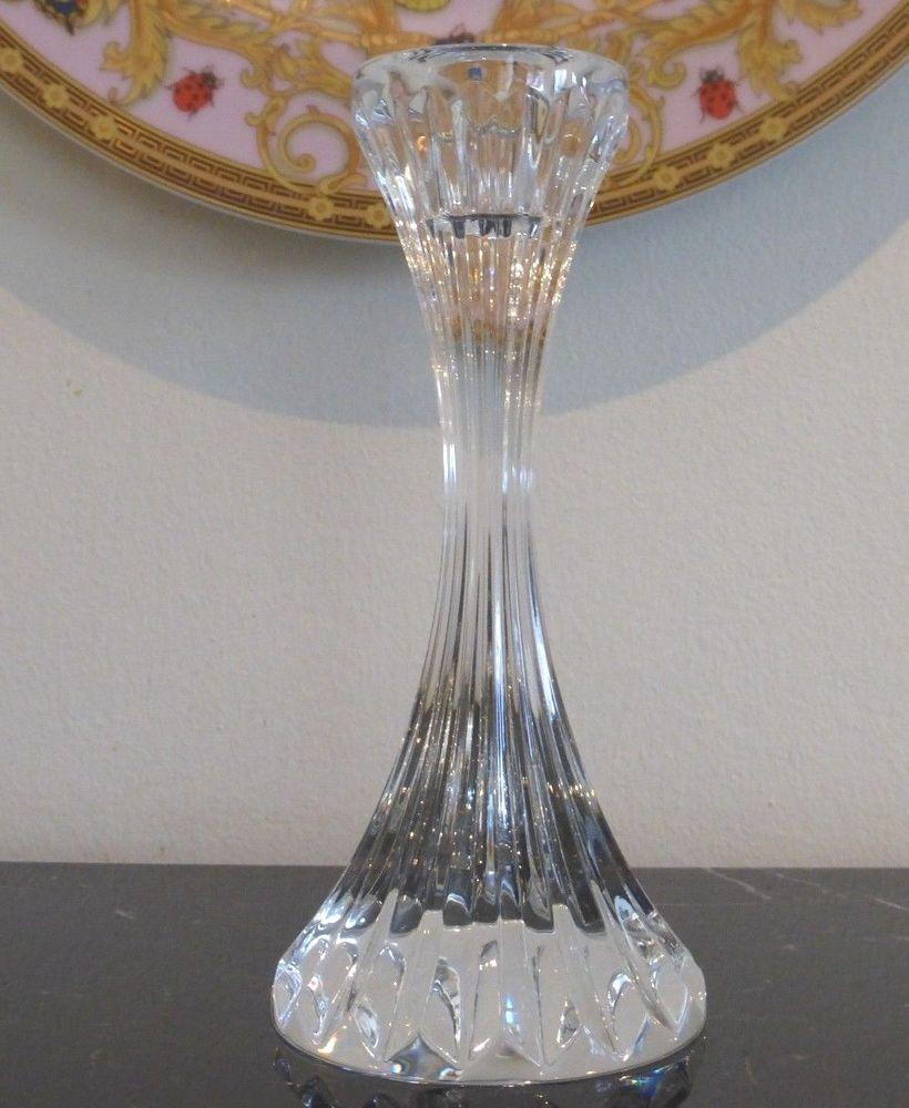 fc23117bf34 Baccarat Crystal Massena Candlestick Candle Holder #Baccarat ...