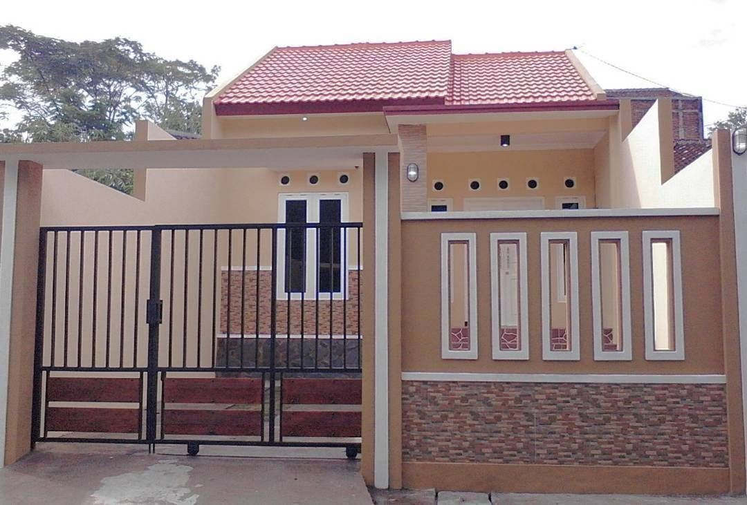 Contoh Pagar Rumah Minimalis 2019 Free Wallpapers In 2020 Entrance Gates Design House Designs Exterior House Entrance