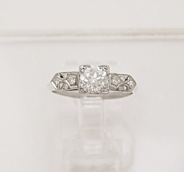 Antique Engagement Ring Resize a ring Engagement Ring Vintage Engagement Ring
