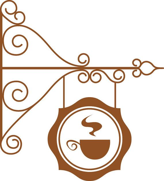 Wall Decal Custom Vinyl Art Stickers Coffee Sign Coffee Signs - Custom vinyl wall decals coffee