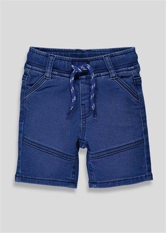 fa44ffab09 Boys Knitted Denim Shorts (3mths-5yrs) – Matalan   My Denim Shop ...