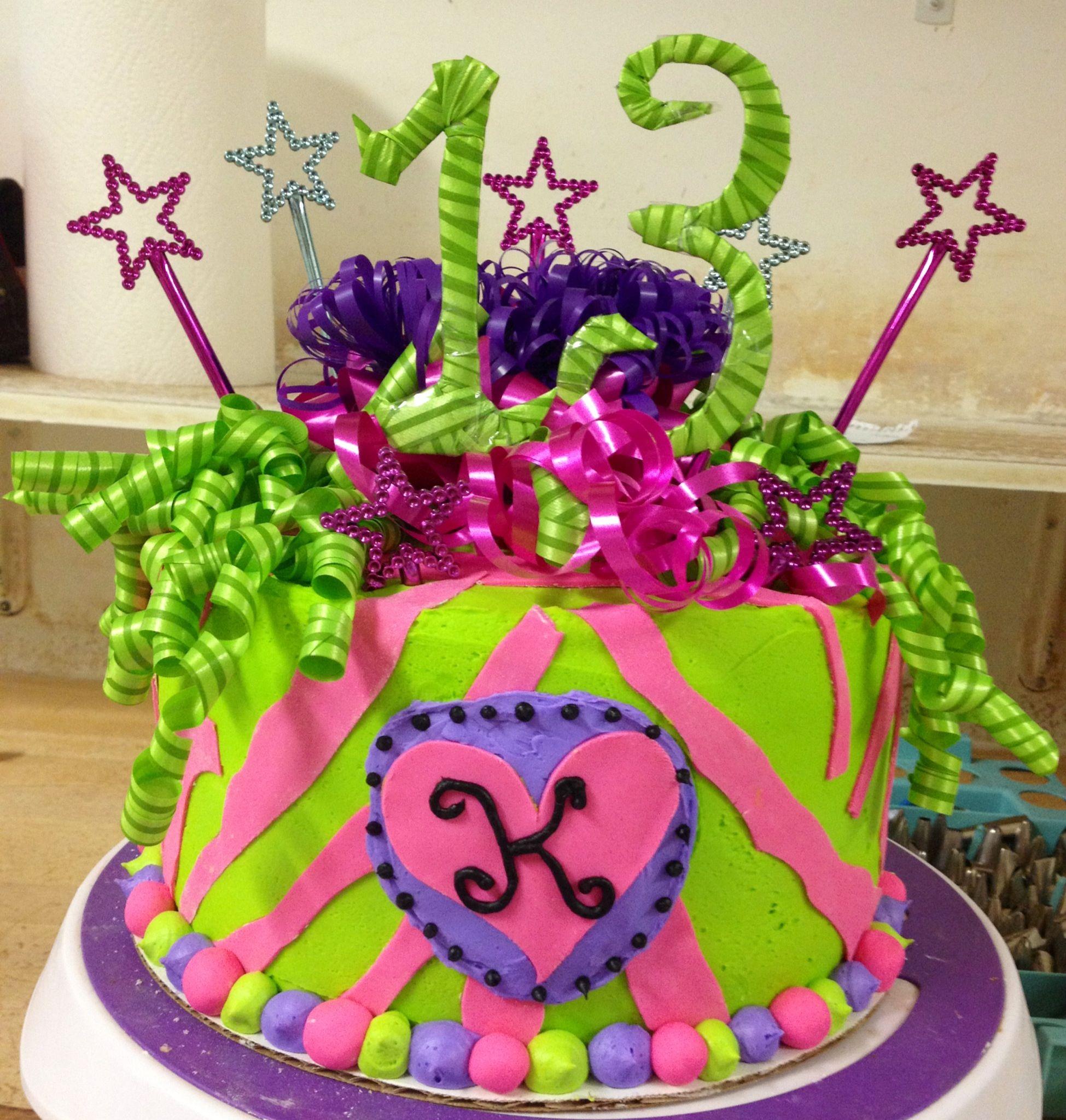 Teen Girl Birthday Cake Birthday Cakes Pinterest