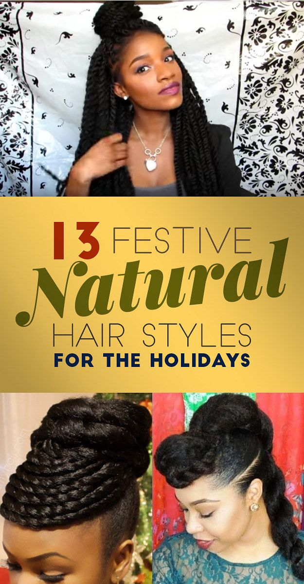 13 Cute And Easy Ways To Style Natural Hair For A Party Beauty