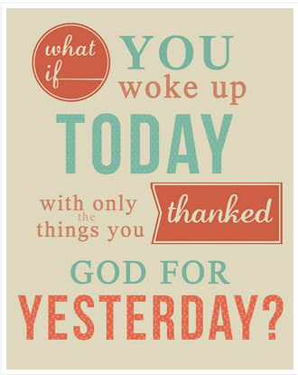 Sunday thought of the Day!