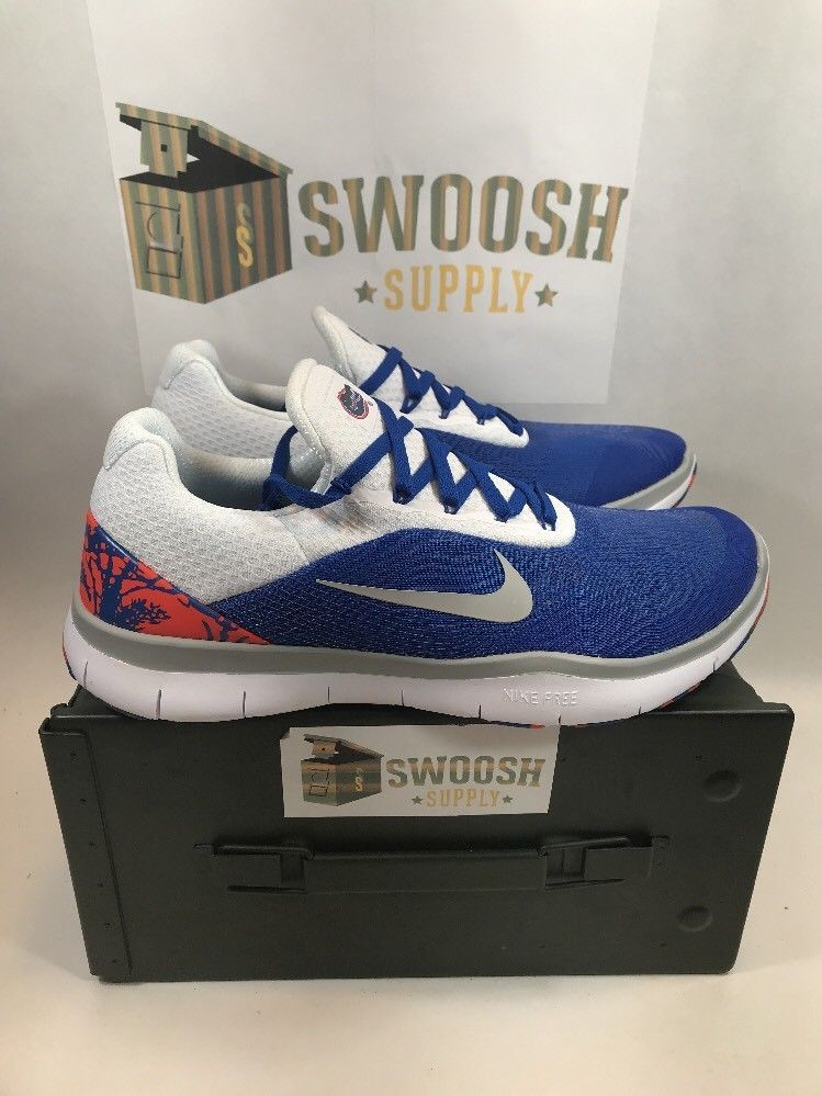 detailed look d4926 8774f Nike Florida Gators Free Trainer V7 Week Zero Shoes AA0881-401 Size 9.5  Mens  Nike  AthleticSneakers