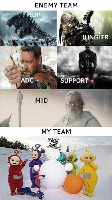 Buncha Scrublords League Memes Funny Games Funny Gaming Memes