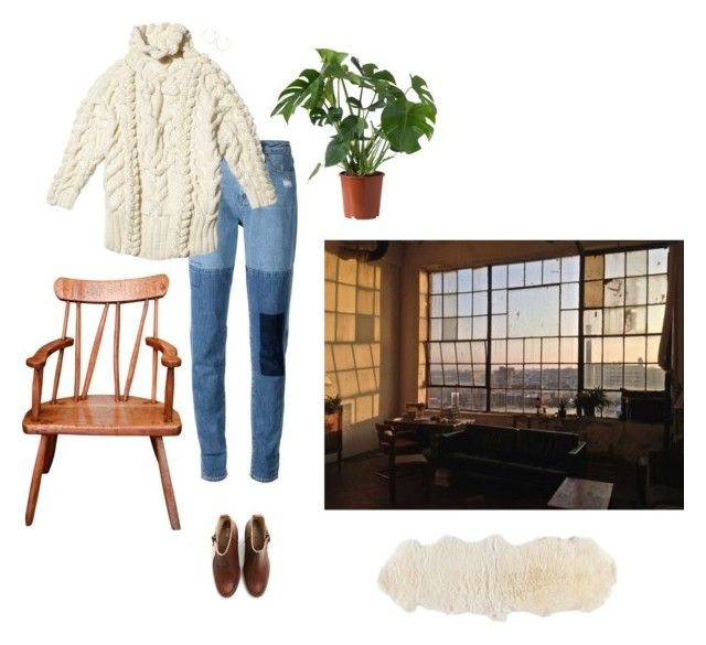 """Untitled #422"" by hippierose ❤ liked on Polyvore featuring Paige Denim, Lana and Acne Studios"