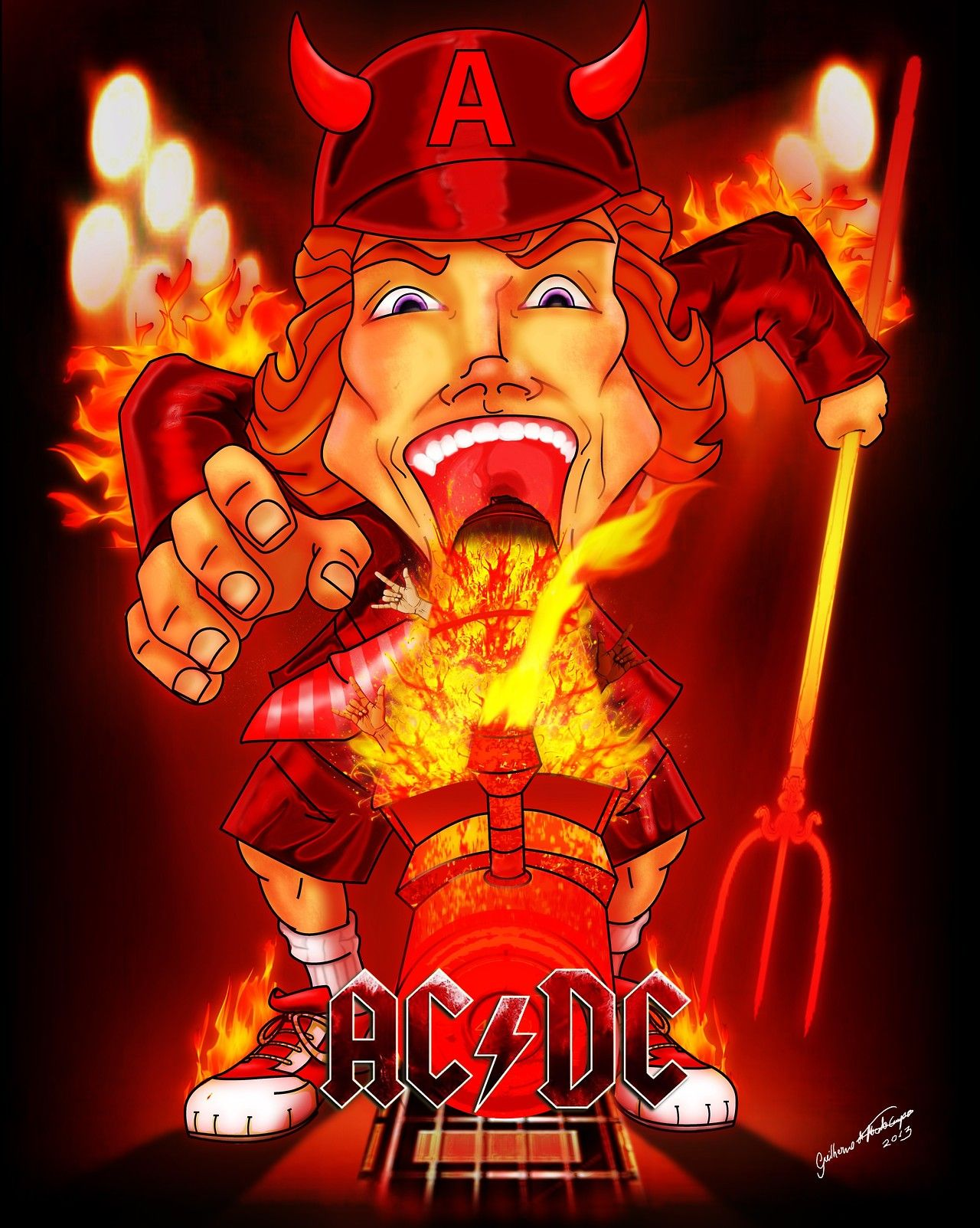 Ac Dc Art : Acdc art ac dc posters pinterest and rock