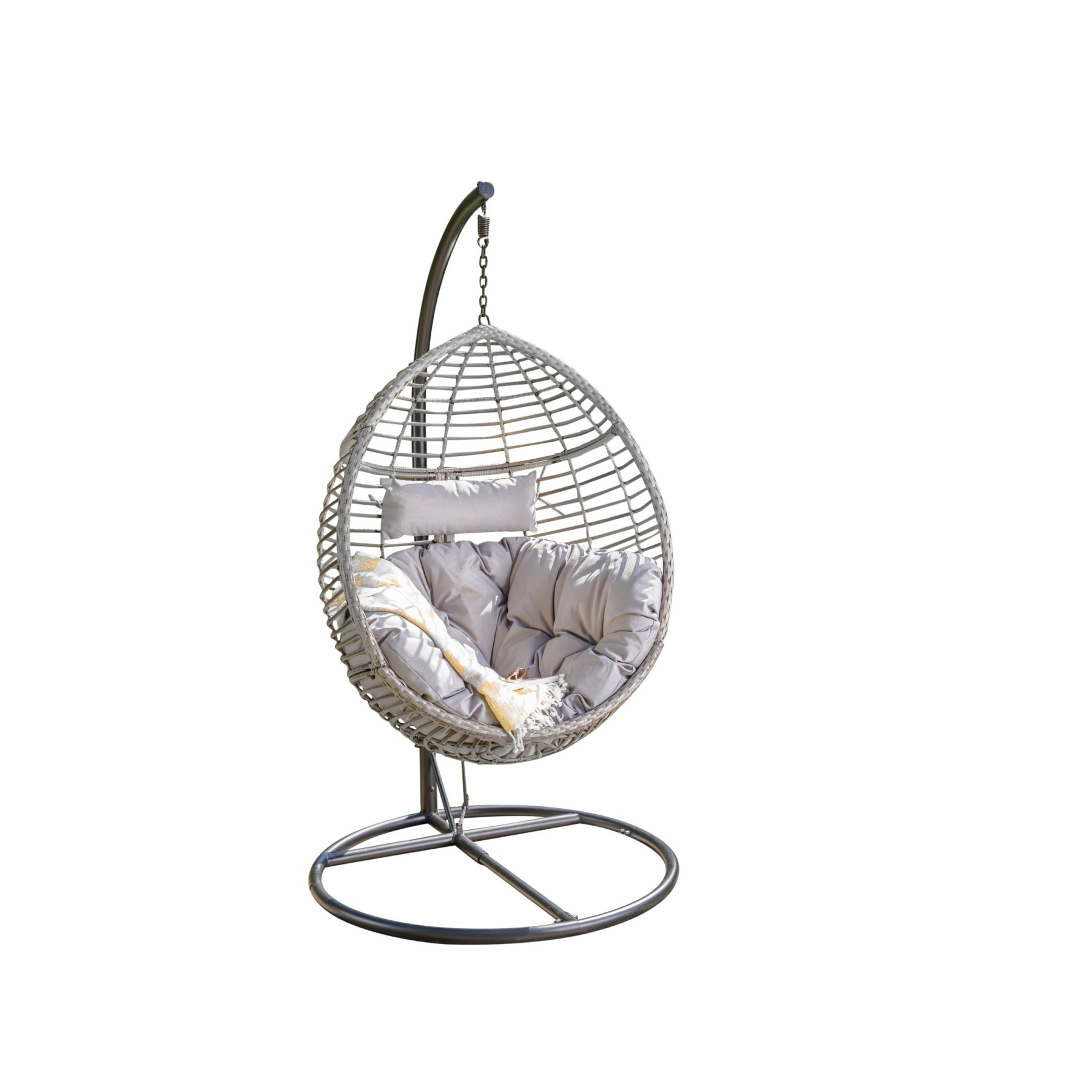 Egg Chair Met Standaard.Best Selling Home Layla Wicker Outdoor Hanging Egg Chair In 2019