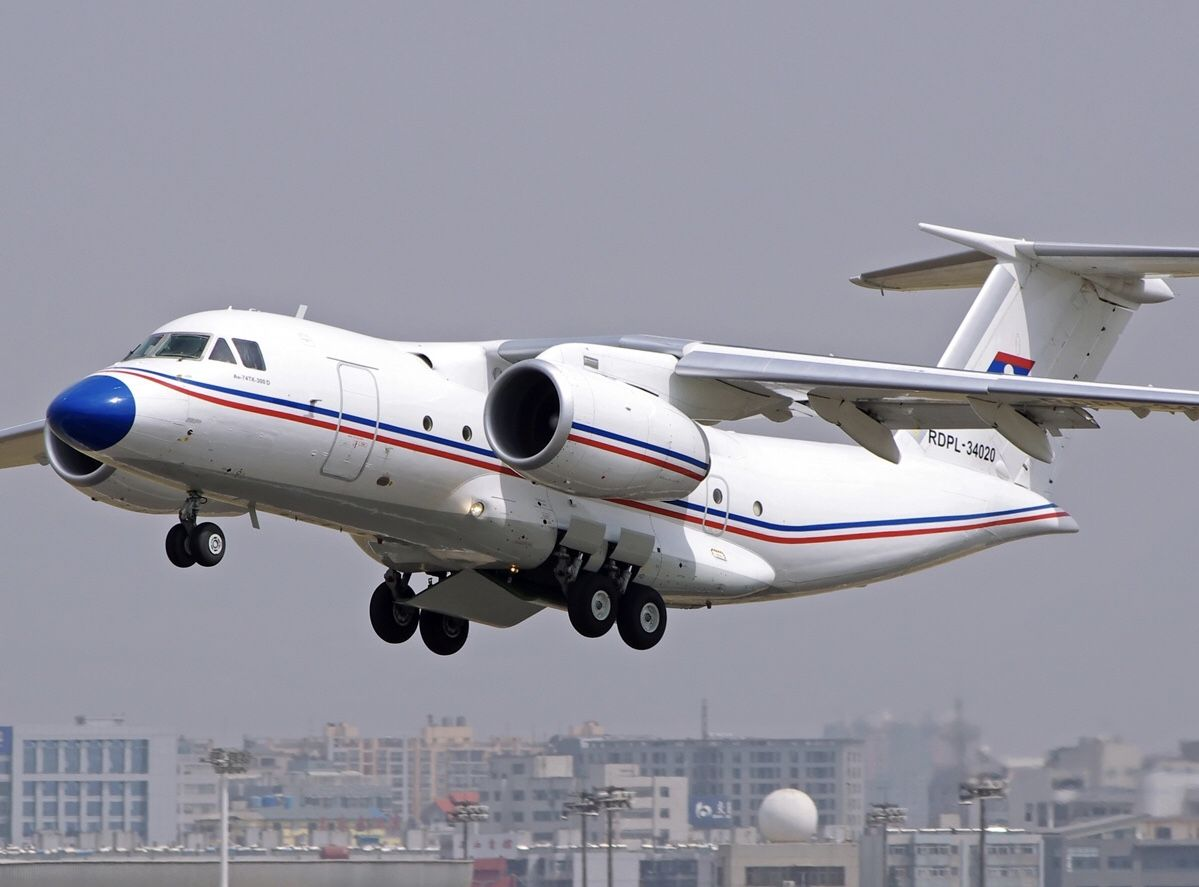 Lao People's Liberation Army Air Force Antonov An 74TK 300D