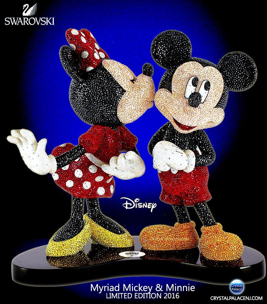 Swarovski Disney Myriad MICKEY MINNIE Limited Edition 2016 ...