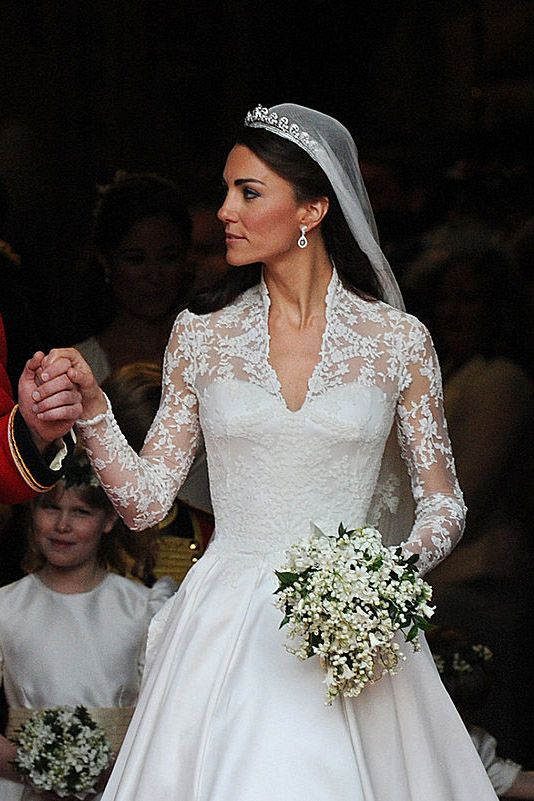 The 15 most expensive celebrity dresses of all time wedding dress the 15 most expensive celebrity dresses of all time princess kateduchess of cambridgewedding junglespirit Images