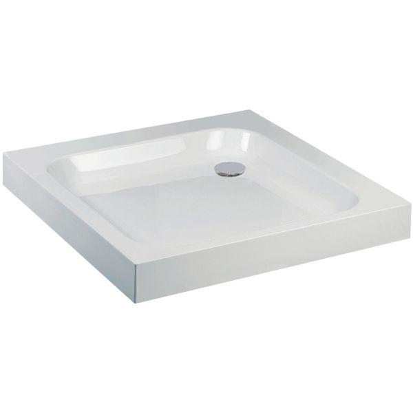 Aura Square Shower Tray 900 x 900mm White