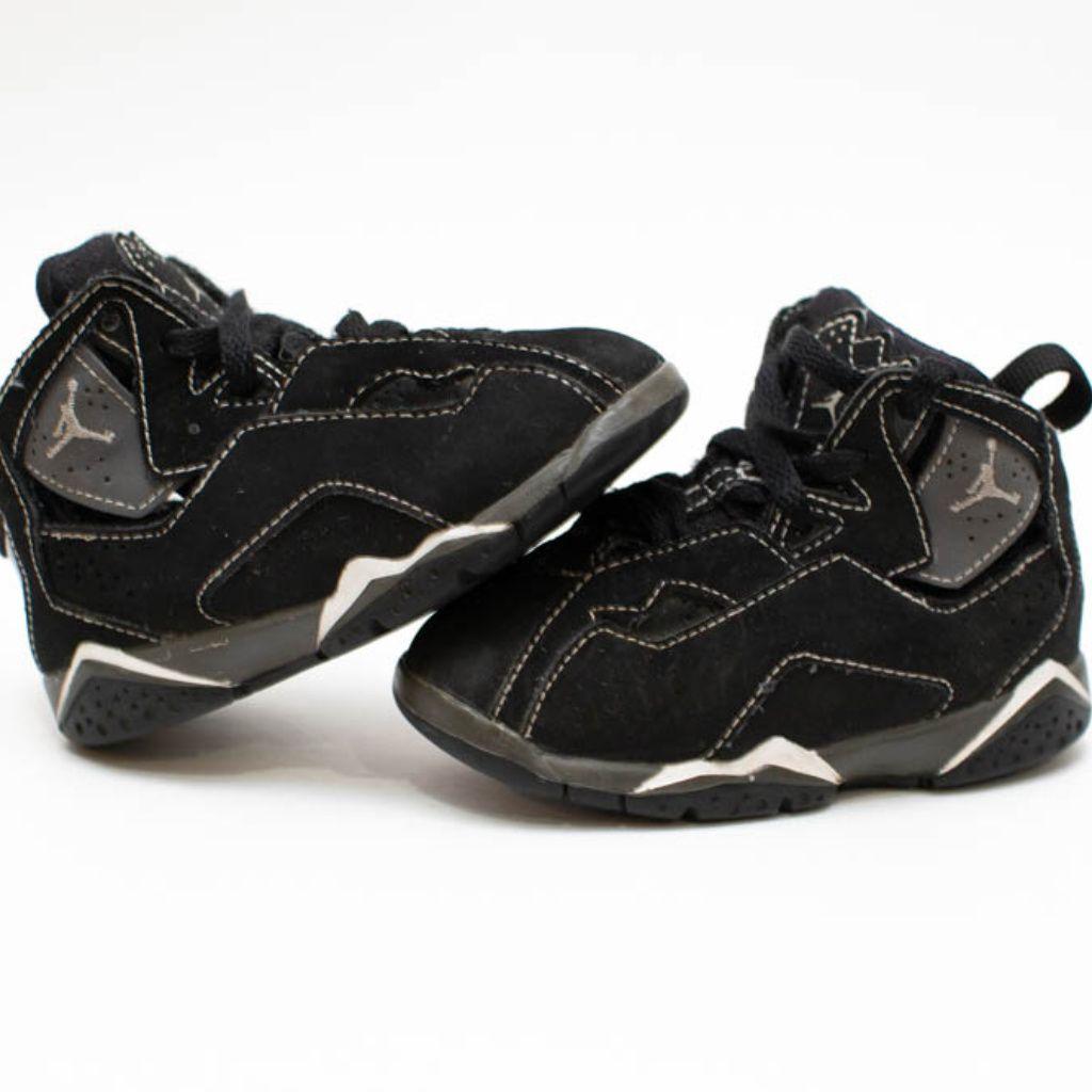 best service 73924 7a51b Jordan Shoes   Air Jordan 7'S   Color: Black/Gray   Size ...