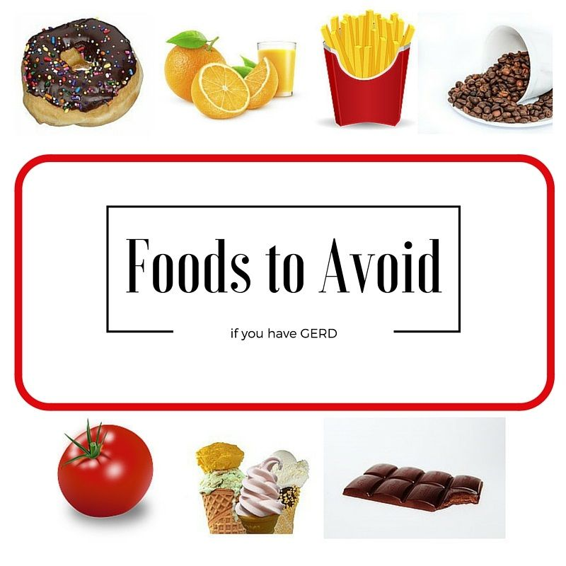 What foods should you avoid if you have GERD ...