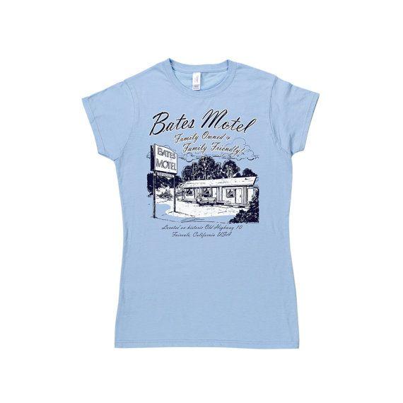 Womens Bates Motel T Shirt por TshirtBordello en Etsy