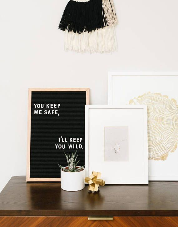 12 x 18 inch Slotted Felt Letter Board with 290 Character Letter Set ...