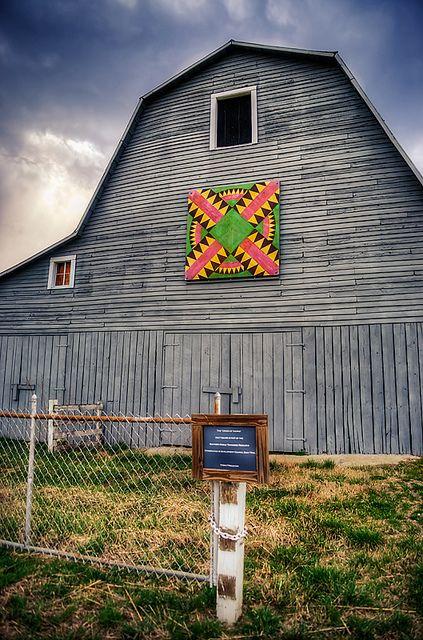Tennessee Quilt Barn by perkijl61, via Flickr