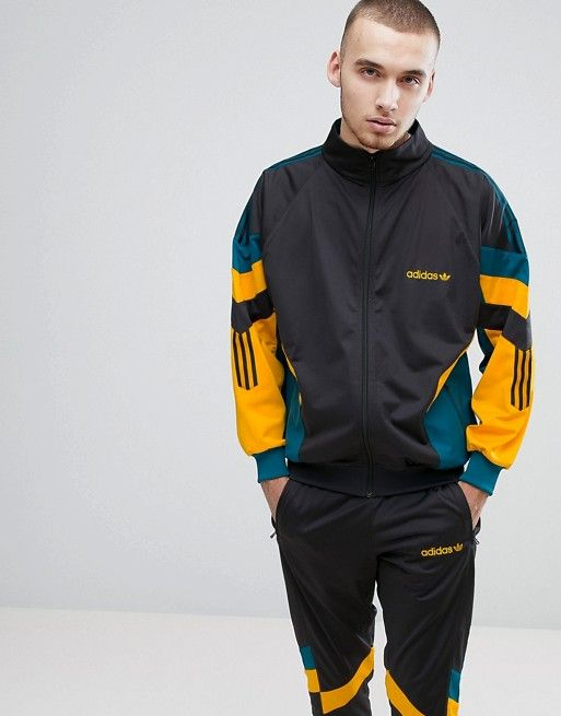 buying now 100% quality better adidas Originals Vintage Tracksuit in Gray | ASOS | Adidas ...