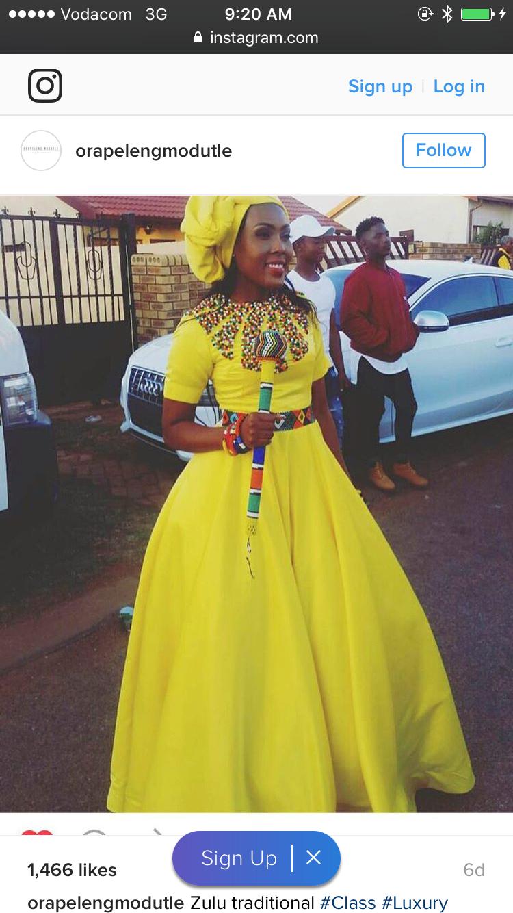 99ac3e220ac More More. More More Zulu Traditional Wedding Dresses ...