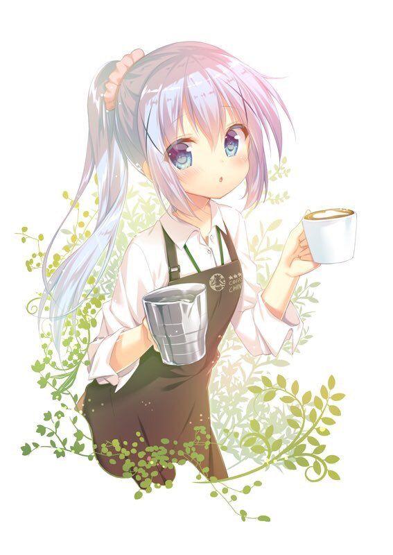 Reak れいく Udontaberu Reak 4月28日 その他 やっぱりポニーテール最高じゃね このチノちゃん可愛過ぎでしよ W かわいいアニメガール マンガアニメ アニメチビ