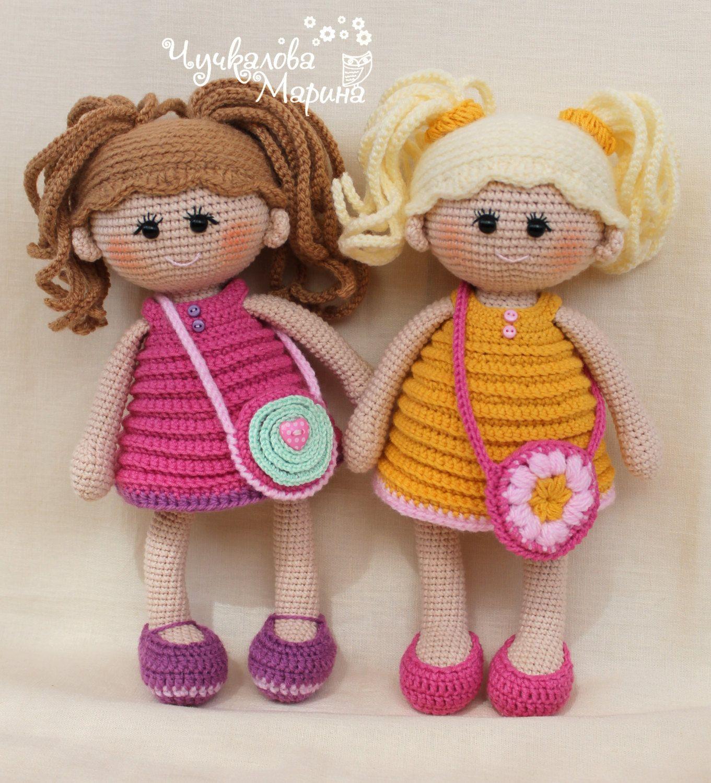 Crochet doll pattern Pumposhka PDF by Kumutushkatoys on Etsy | Orme ...