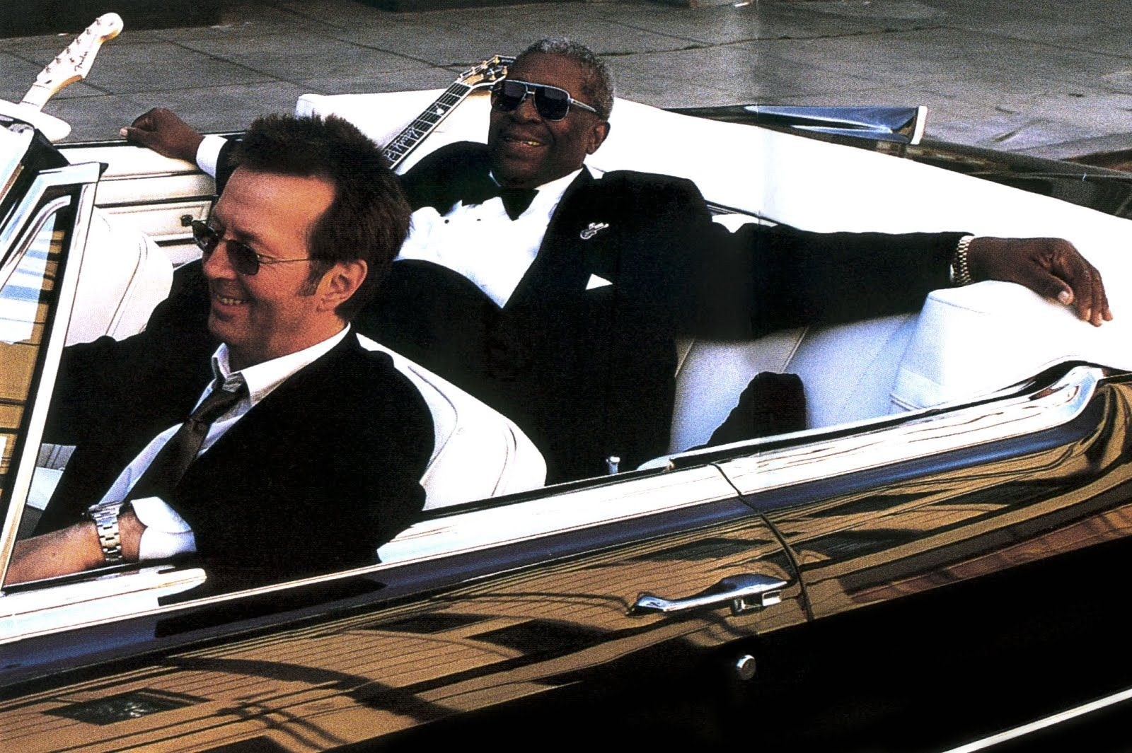 Bb King And Clapton Riding In A Old Cadillac Awesome