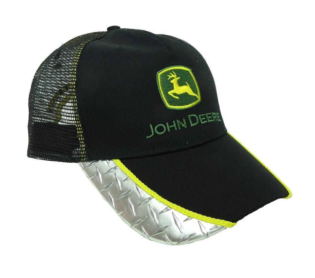 GENUINE John Deere Mesh Baseball Cap FREE P/&P Black