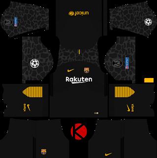 Barcelona Nike Kits 2017 2018 Dream League Soccer Soccer Kits Soccer Real Madrid Home Kit