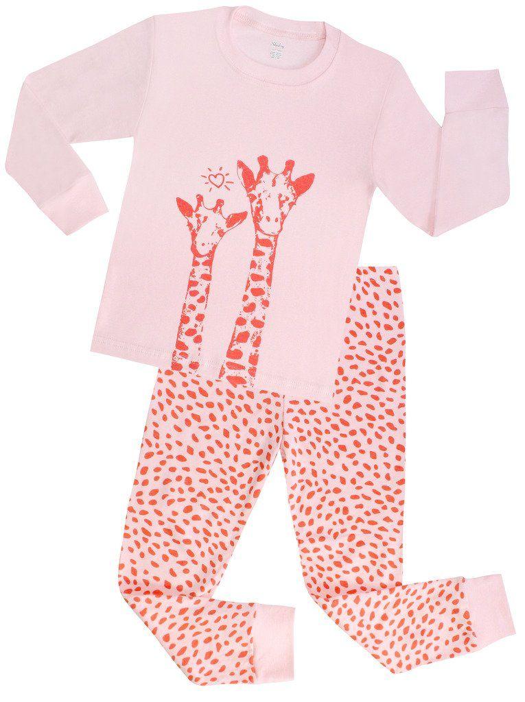 Girls Christmas Pajamas Children Deer Sleepwear Toddler Clothes ...