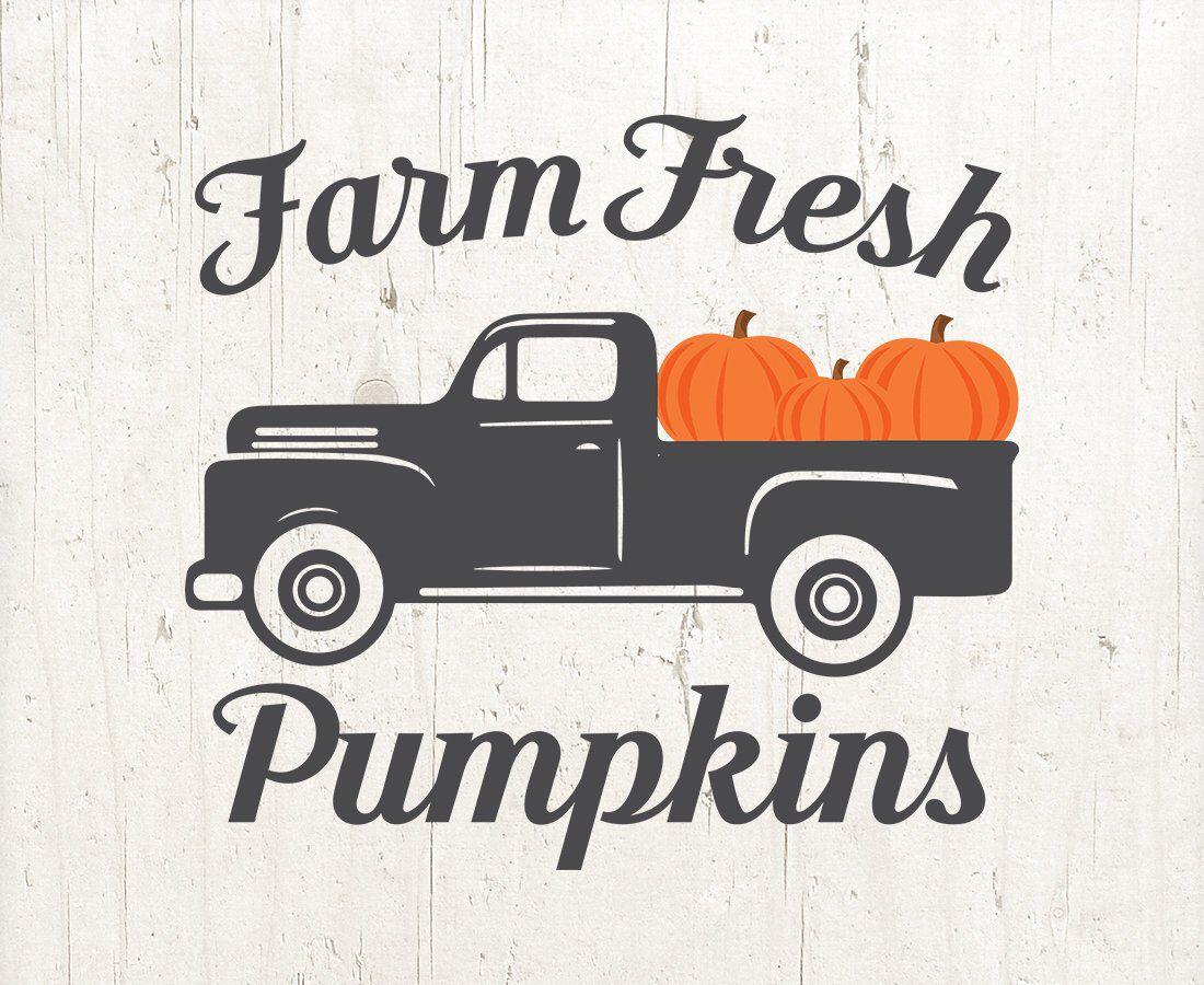 Farm Fresh Pumpkins SVG Farm Fresh Sign SVG Farm Fresh SVG